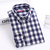 Women Blouses Long Sleeve Office Tops Flannel Shirt