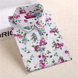 Long Sleeve Cotton Women Shirts