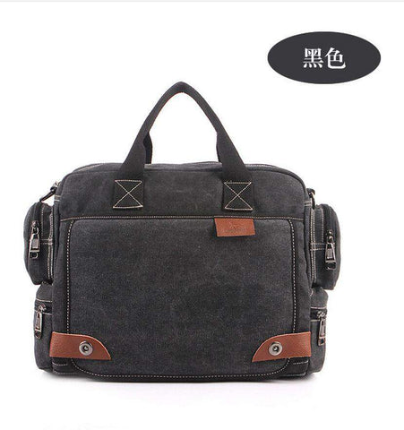 Canvas Bags Men Business bag Casual