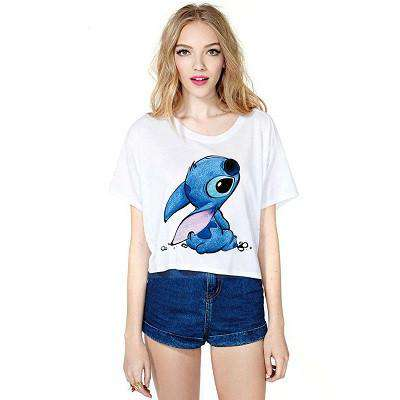 Women T-shirt Fashion Short Sleeve Top Sexy