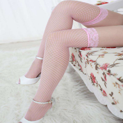 hollow out lace fishnet stockings sexy lace pantyhose