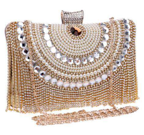 Chain Bag Party Banquet Evening Clutch Bags Day Clutches