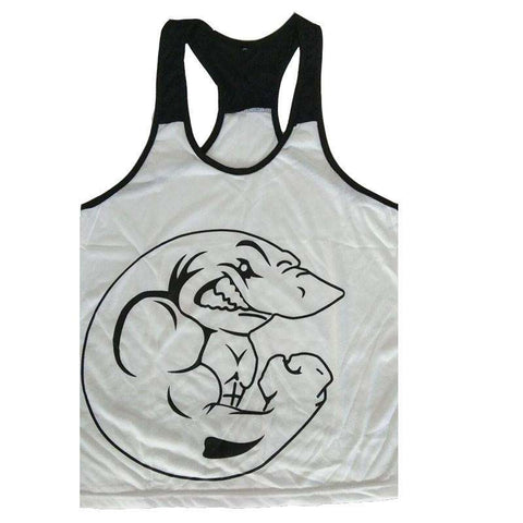 Cotton Slim Fit Men Tank Tops Clothing Bodybuilding