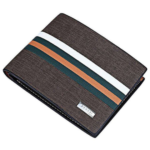 Designer PU Leather Wallet Men Bags