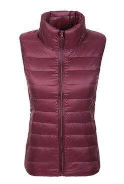 Duck Down  Slim Short Winter Vest Women
