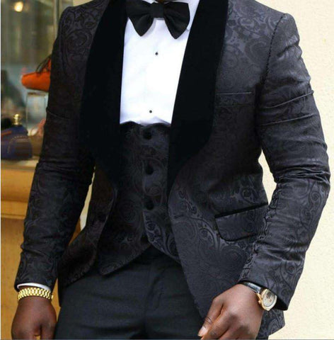 Best Man Blazer Slim Fit Vintage
