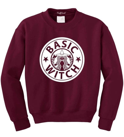 Basic Witch Crewneck Sweatshirt