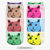 Cat Women Socks Calcetines Casual