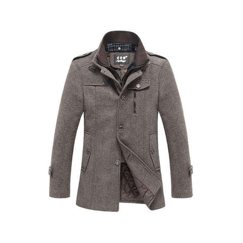 Men's Winter Jacket Casual Coat Warm