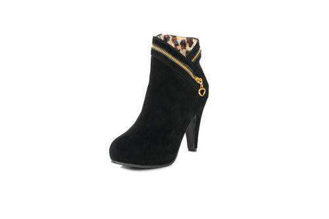 Flock Ankle boots for Women