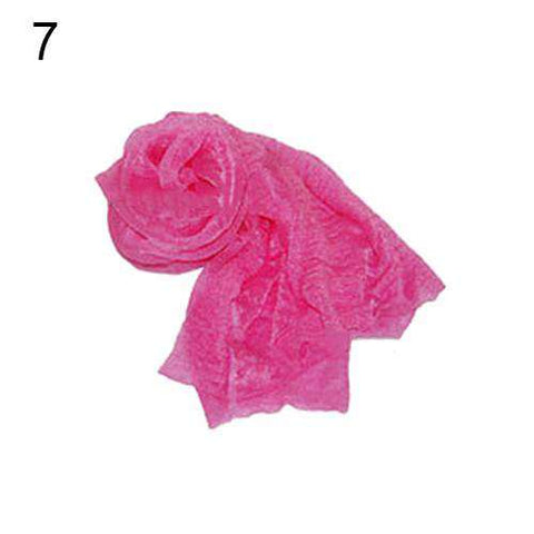 Ladies Solid Candy Color Long Soft Scarf