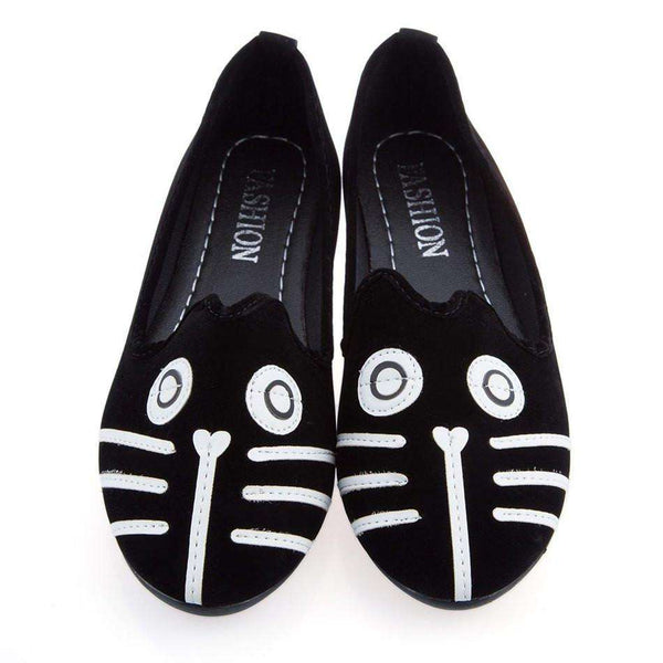 Dog Cat Flat Shoes Women's Casual Shoes