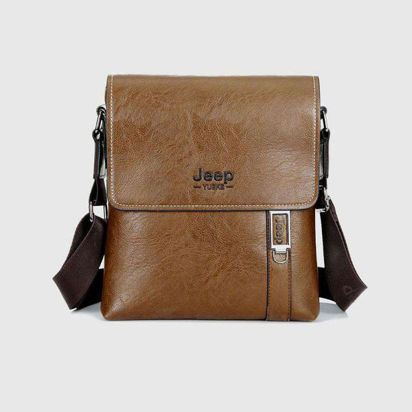 Men's PU Leather Shoulder Bag