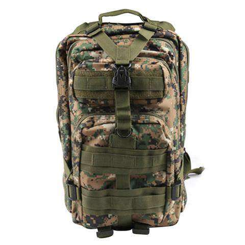 Men's Canvas Military Backpack Bag Sport Military