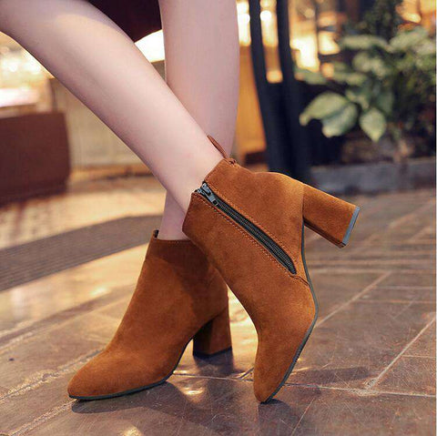 Ankle Boots with Medium Heel