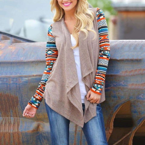 Casual Women's Irregular Sweater Cardigan