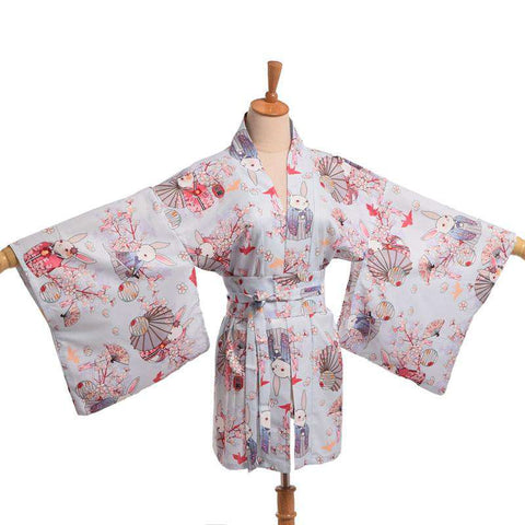 Kimono Cute Women Long Slim Casual