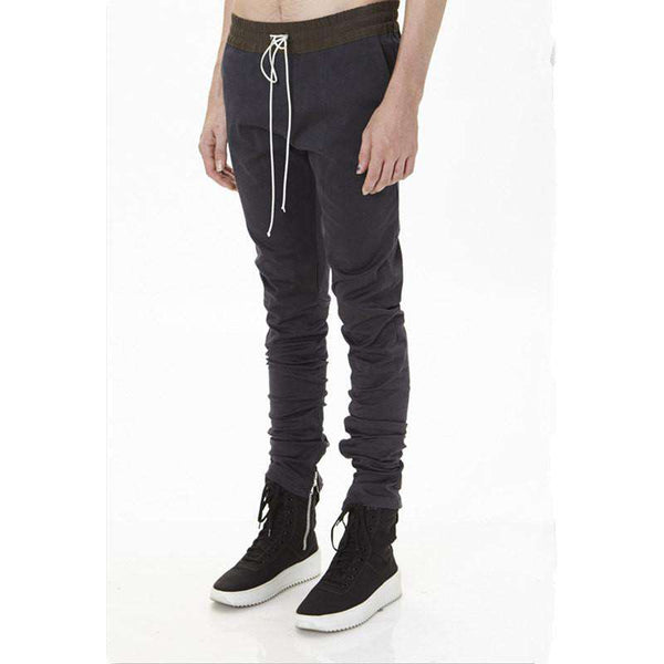 fashion men's jogger zipper juniors cargo pants