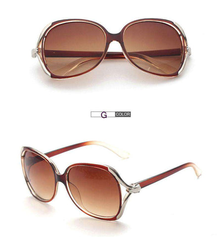 Glasses Large Frame Sun Glasses Women