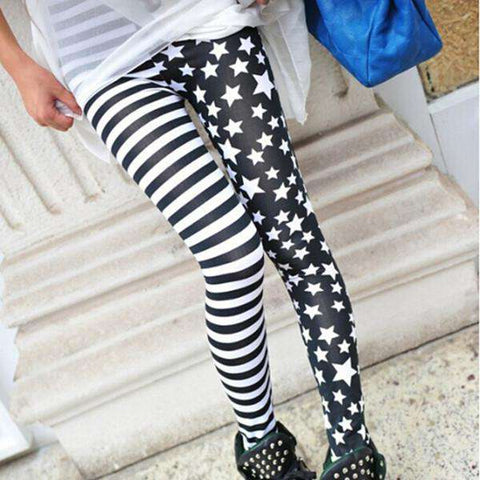 Charming Cool Punk Style Leggings