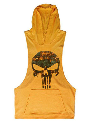 Gym Vest Tank Tops Fit Muscle Men's Gold Gym Top Fitness