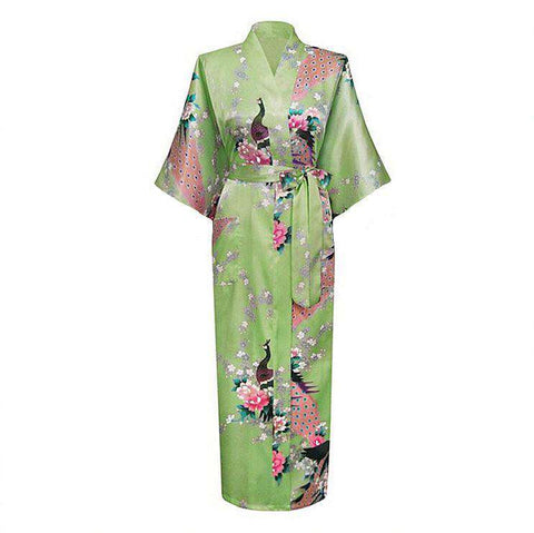 Light Green Female Robe Bathrobe