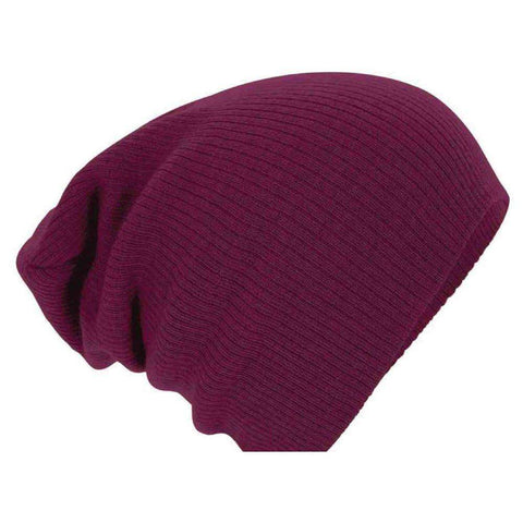 Hats For Women Men Solid Fashion Knitted Cotton Plain