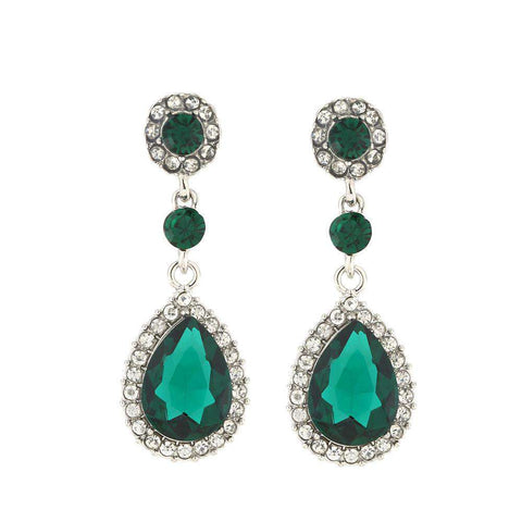 Water Crystal Earings Fashion Long Earrings For Women