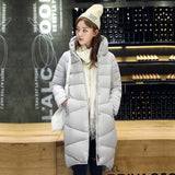Women Long Thick Full Cotton Padded Jacket Female