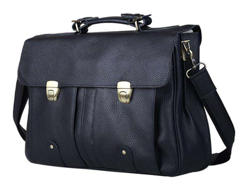 Leather Men's Briefcase Genuine Leather Briefcases