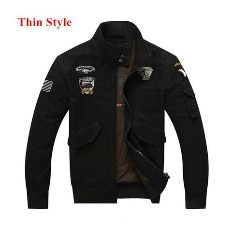 Air Force Bomber Jacket Military Style