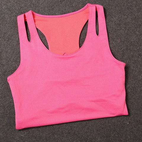 Tank With Pad Top Women Clothing Training Exercise