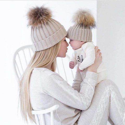 Baby Girls/Boys & Women Hat Set