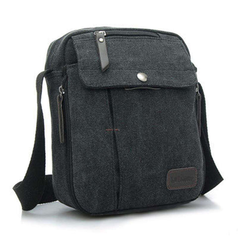 Crossbody Bag Vintage Canvas Men's Shoulder Messenger