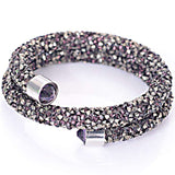 Full Pave Rhinestone Crystal bangle for women
