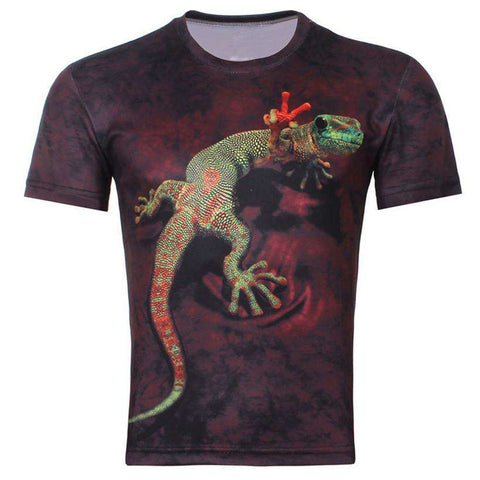 3D Men T-shirt Printing casual