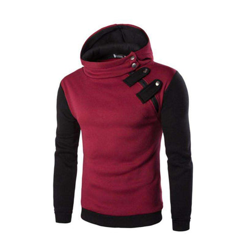 Hoodies Men Hoodie Zipper Sweatshirt Slim