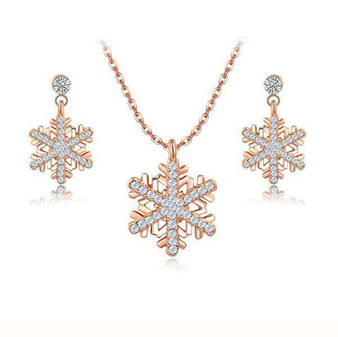Crystal Jewelerys Set for Weddings Christmas