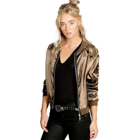 Jacket Coat Pilots Trendy Women Outwear