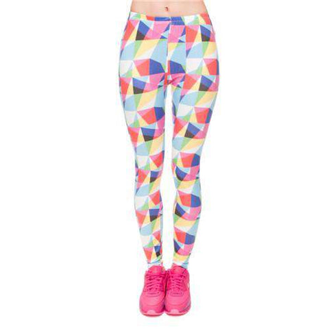 Casual Women Slim Leggings Vintage