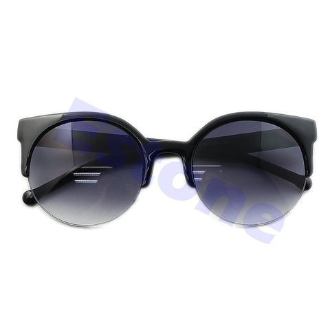 Eye Sunglasses Retro Super Round Circle Cat Designer