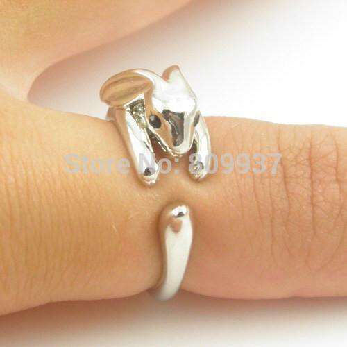 1pcs Handmade 3D Rabbit Bunny Ring for Women