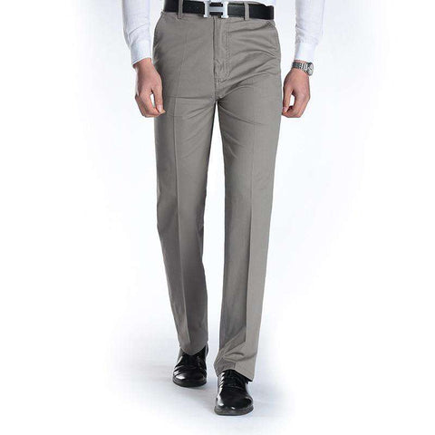 Casual Straight Slim Cotton Dress pants for Men