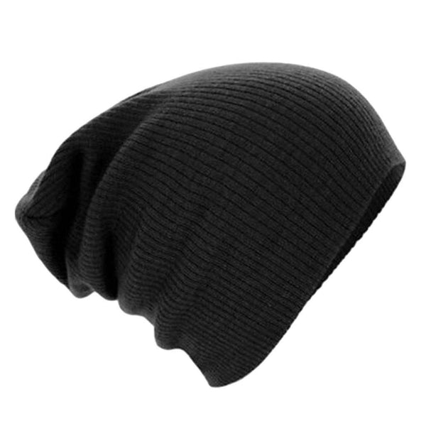 Winter Casual Cotton Knit Hats For Women Men