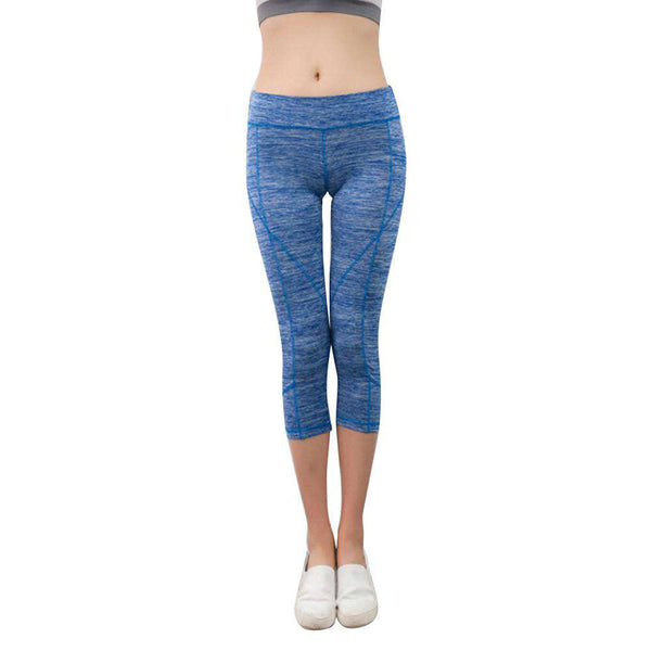 Women Pants Elastic clothes Exercise Elastic Fitness Trousers leggings