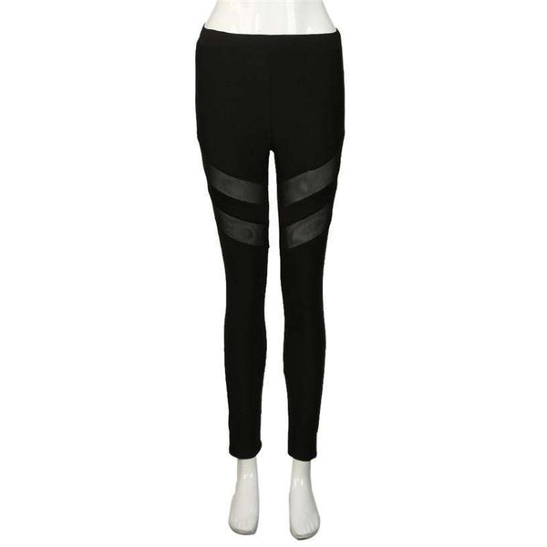 High Waist Sexy Skinny Mesh Push Up Leggings