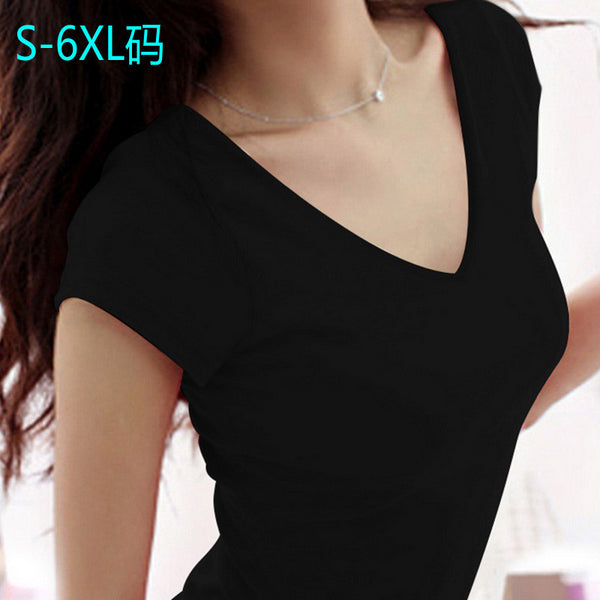 Women Casual Deep V neck Solid Sleeveless women