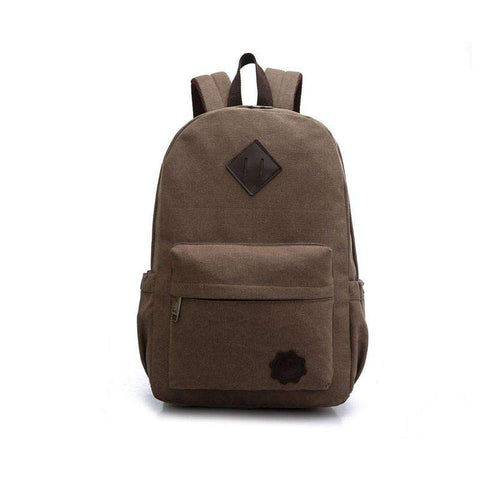 Casual Travel Vintage Canvas Men's Backpack