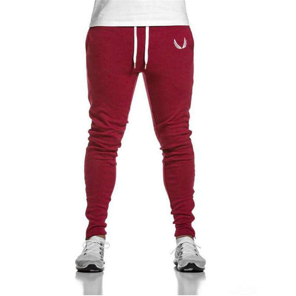 Mens Fitness Workout Pants skinny,Sweatpants Trousers Jogger Pants
