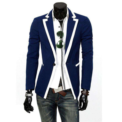 men blazer Classical edge suit men suit casual